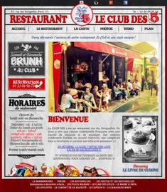 * Burger / Brunch * LE CLUB DES 5 - Restaurant à Paris 17ème Arrondissement