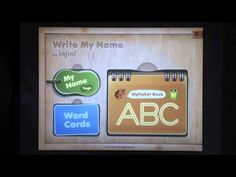 Write my Name App provides letter formation practice and the option of creating custom letter formation practice with users names.