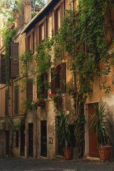 Side Street, Rome, Italy