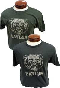 Even decades later, this 1980s-era #Baylor logo remains popular. // T-shirt available at Baylor Bookstore
