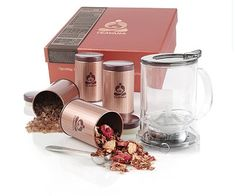 Blooming Tea gift set - Travis  (Gifted)