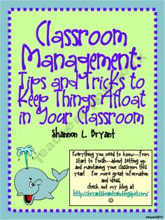 Keeping Things Afloat in Your Classroom (Ocean-Themed Classroom Management)