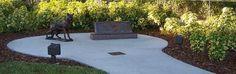 Largo Police Department K9 Memorial  Dedicated December 5, 2008  Located at Largo Central Park, Florida