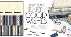 Hearty good wishes available now, check your local quilt shop. @ModaFabrics