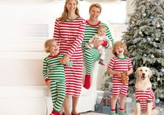 Choosing the Best Matching Christmas Pajamas for Your Family Is Really Easy