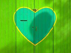 Okay, so it's not a front door... But it is adorable!