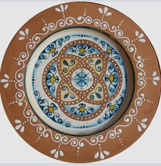 Plate #48 comes in sizes 35cm, 43cm & 48cm all of our terracotta is on our website www.romeocuomoceramics.com