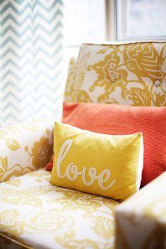 love. pillow colors