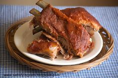 Easy Oven Baked BBQ Ribs | Satisfying Eats