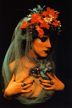 My Bohemian Aesthetic fireandether:  Irina Ionesco,from 'How to Photograph Women' by Dixons