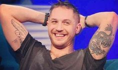 Tom Hardy like marry me...