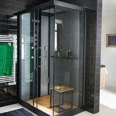 Douche on pinterest moonlight and design for Douche castorama cabine