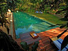 swimming pool ... greeeeeen