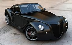 retro styles, car rides, imperia gp, retro cars, imperiagp, old school, first car, matte black, concept cars