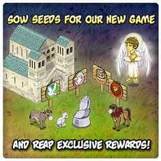 LIKE and SHARE if you LOVE JESUS!  Give the gift of the Good News!  Select a Support Level in your game and receive great rewards! Your generosity helps to share the Love of Christ with others! Help spread the Good News in a fun way today!