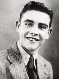 Sean Connery as a teenager