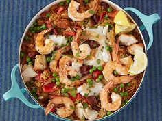 Make-Ahead Paella Casserole #UltimateComfortFood