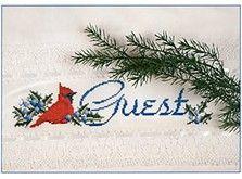 """Cardinal """"Guest"""" Towel"""