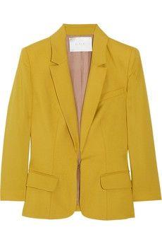 A.L.C. Jude wool and mohair-blend blazer NET-A-PORTER.COM - StyleSays