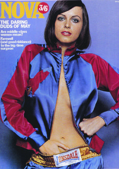 Jacket by Mr Freedom for the cover of Nova magazine, May 1970