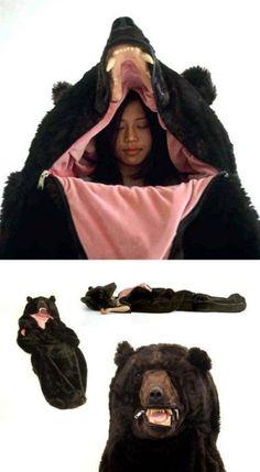 sleeping bag for camping!