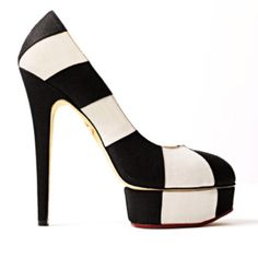 white shoes, fashion, charlotte olympia, style, heel