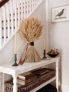 Twisted Wheat Decoration. Fall Decorating from House & Home