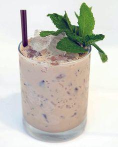 Godiva Southern Belle | Godiva Chocolate Liqueur, Bulleit 10 Year Bourbon, White Crème de Menthe, Bouquet of Mint Sprigs