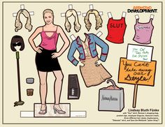 The Complete Set Of Arrested Development Paper Dolls - BuzzFeed Mobile