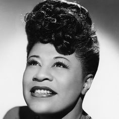 Ms. Ella Fitzgerald. No one did it with such style!