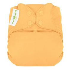 We love our cloth diapers. These all-in-one, one-size-fits-all makes cloth diapering so easy!