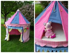 Cute tent idea!