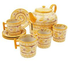 Temp-tations Old World 10-piece Just Desserts Hostess Set - QVC.com