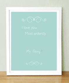 Mr Darcy - And now I need to watch Pride & Prejudice