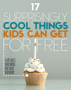 17 Surprisingly Cool Things Kids Can Get For Free