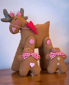 Reindeer and Gingerbread Men