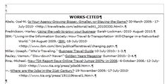bibliography in thesis