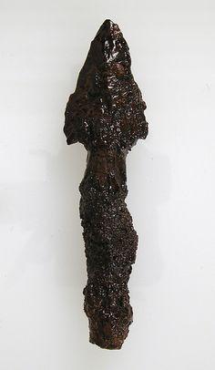 Javelin Head, 500-600. Made in, Niederbreisig, Germany. Frankish. The Metropolitan Museum of Art, New York. Gift of J. Pierpont Morgan, 1917 (17.193.166) #Olympics #London2012