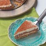No-Bake Chocolate Swirl Cheesecake - Recipe.com