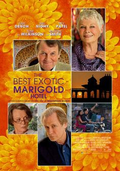 The Best Exotic Marigold Hotel (2011) To make the most of their meager retirement savings, a group of British seniors relocates to India to live out their golden years at the Marigold Hotel. But upon arrival, they discover that the once-lavish resort has wilted considerably.