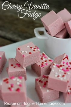 Cherry Vanilla Fudge: Perfect for gift giving!