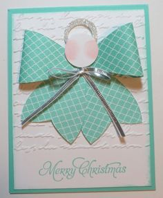 "Stampin' Up! ""Bow"" Die Angel"