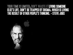 Love this! Steve Jobs...