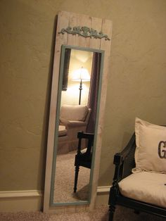 Great way to make a cheap mirror look great