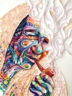 Quilled Paper Design From Yulia Brodskaya
