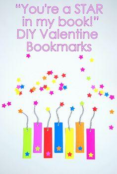 DIY Valentine Bookmarks - northstory.ca