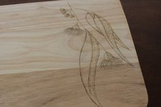 Board for cuttings and chopping  Eucalyptus by MadeByNatalieK, $35.00