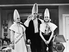 """The Coneheads""-Dan Aykroyd, Jane Curtin & Laraine Newman"