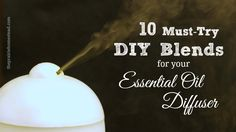 essential oil diffuser, essential oil blend recipe