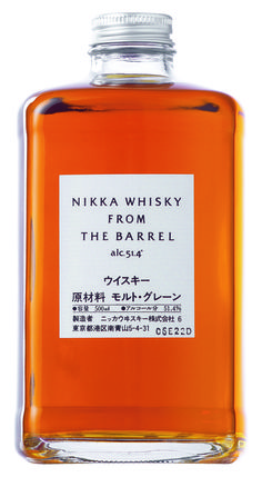 Nikka whisky -  This Japanese whisky from the award-winning Nikka Distillery has a floral aroma with a touch of orange peel and apricots combined with the delicious taste of boiled sweets and spices.  Ideal as a gift for seasoned whisky drinkers looking to experience the Japanese take on an old favourite. 51.4% alcohol.